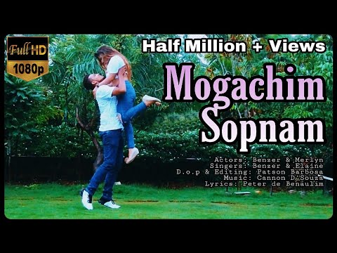 MOGACHIM SOPNAM | VALENTINES DAY SPECIAL | Konkani Love Song | BENZ FERNZ (2017)