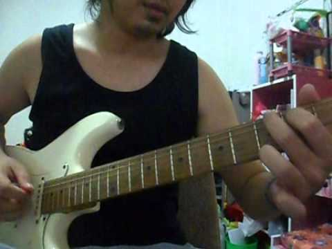 intro Pink just give me a reason guitar cover in chord form
