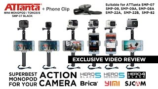 Download Video ATTANTA + PHONE CLIP for GOPRO HERO and ACTION CAMERA - VIDEO REVIEW MP3 3GP MP4