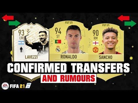 FIFA 21 | NEW CONFIRMED TRANSFERS & RUMOURS 😱🔥| FT. RONALDO, SANCHO, LAVEZZI... Etc