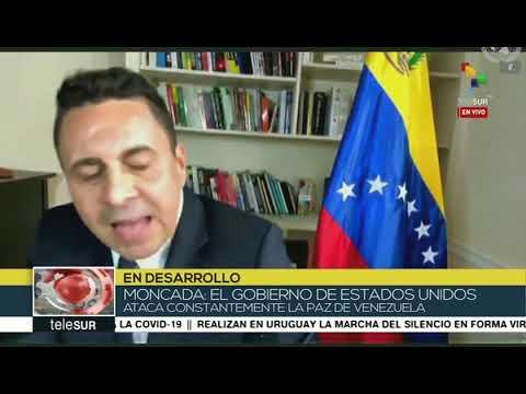 Samuel Moncada en Consejo Seguridad ONU denuncia la Operación Gedeón apoyada por EEUU y Colombia