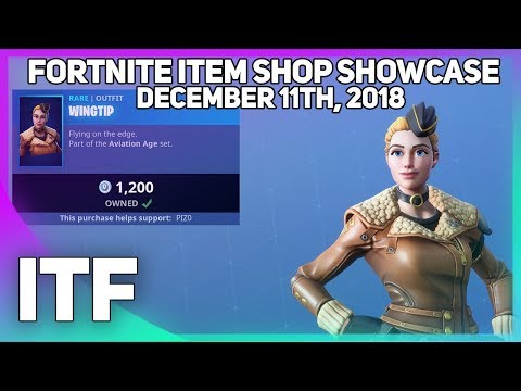 Fortnite Item Shop *NEW* PILOT SKINS! [December 11th, 2018] (Fortnite Battle Royale)