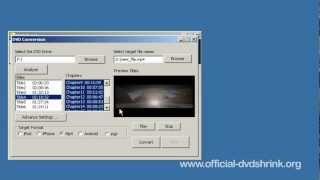 dvd shrink tutorial video
