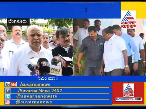 BS Yeddyurappa Hits Back At CM & DK Shivakumar
