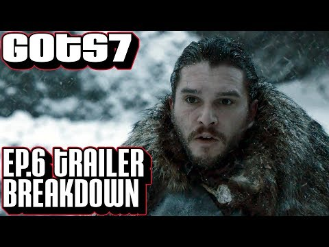 [Game of Thrones] Season 7 Episode 6 Trailer Breakdown | The Battle North of The Wall