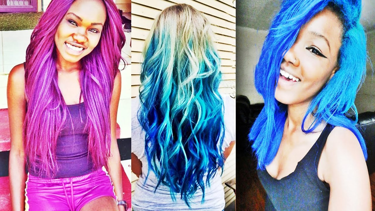beautiful best multicolored hairstyles to charm your looks - youtube