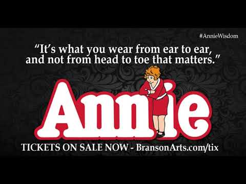 Great Quotes From the Musical Annie