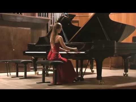 J.Brahms 3 Klavierstucke op.76 Varvara Tarasova (piano)