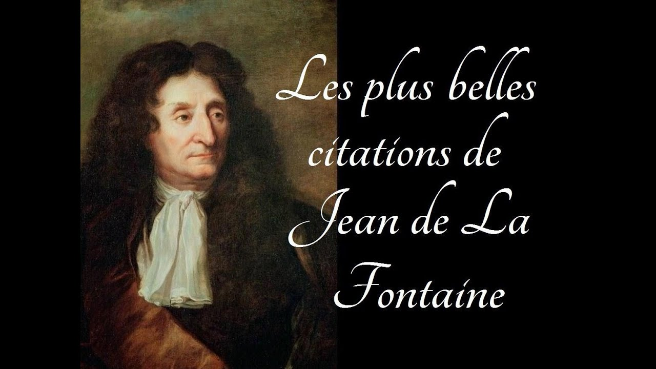 les plus belles citations de jean de la fontaine youtube. Black Bedroom Furniture Sets. Home Design Ideas
