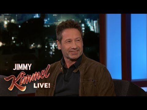 David Duchovny Watches The Bachelor