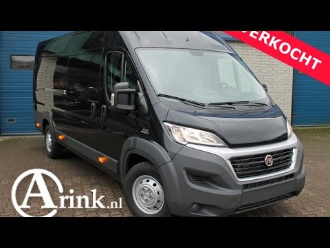 fiat ducato l4 h2 35 maxi 3 0 2016 nieuw 180pk airco navigatie luxery pack youtube. Black Bedroom Furniture Sets. Home Design Ideas