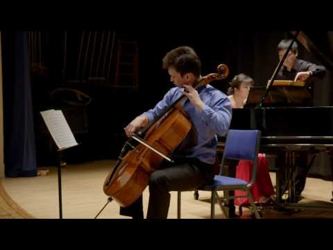 Cellist Jonah Ellsworth | Rachmaninoff Cello Sonata . Opus 19 . Movt. 1