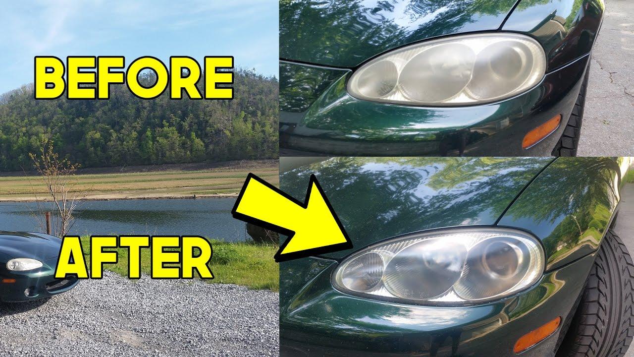 Chrisfix Headlight Restoration Nb Miata
