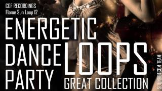 Royalty Free LOOPS DOWNLOAD - Energetic Electronic Trance House Dance | Flame Sun Loop 12