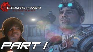 ARRESTED   Gears Of War Judgement  Walkthrough / Gameplay ( Xbox One/ Xbox 360)  - Part 1