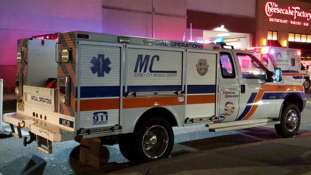 Jersey City Medical Center EMS Special Operations On Scene Of An Active  Shooter At New Port Mall