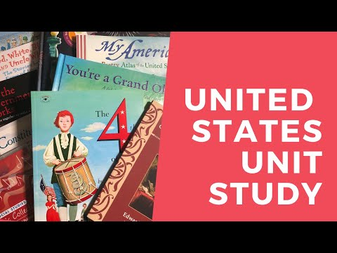 United States Social Studies Homeschool Unit Study