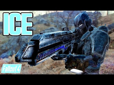 Fallout 4 Mods - CYBER SUB ZERO & CRYOLASER! - Badass Mortal Kombat Armor & New Ice Beam Gun