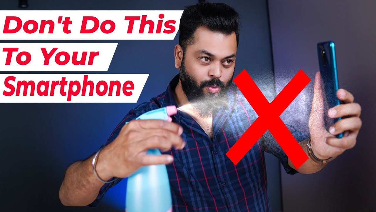 How To Clean Your Smartphone Effectively?? ⚡⚡⚡ DIY Phone Sanitization Tips And Tricks