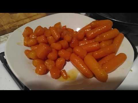 How to make Honey glazed carrots