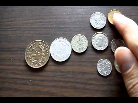 La Moneda de Costa Rica - Primera parte (Costa Rica Currency - Part 1)
