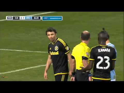 Columbus Crew v New York City (84.50) - DOGSO - Identifying the offender