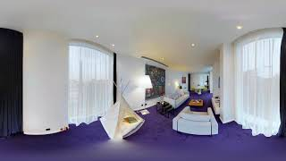 Stay at The Marker Hotel: 360° view of our Roche Suite