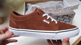 325f3aa8b5 Vans Gilbert Crockett Chukka Low Shoes Unboxing - Rust