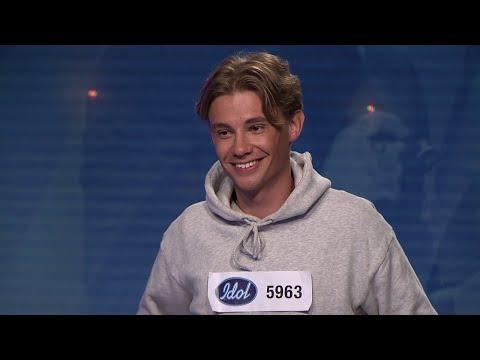Från pojkrummet till audition i Idol 2019 - Hugo Burlin Nyström - Idol Sverige (TV4)