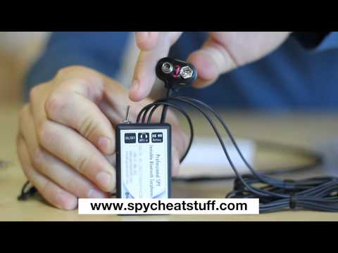 AURICOLARE SPIA SPY GSM BLUETOOTH WIRELESS TEST ESAMI