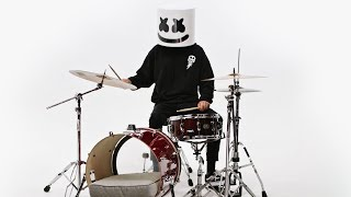 How To Play Marshmello - 'Alone' on the Drums