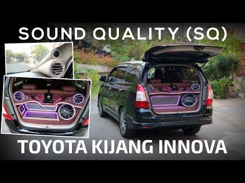 Modifikasi Audio Mobil : Toyota Kijang Innova Dengan Suara dan Installasi Cantik