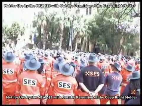NSW 50th Aniversary Parade in Sydney for 50 years of the State Emergency Service in NSW 2005   C2011