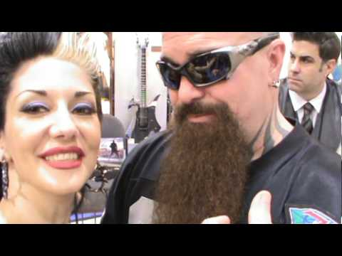 Kerry King says hello from NAMM 2012