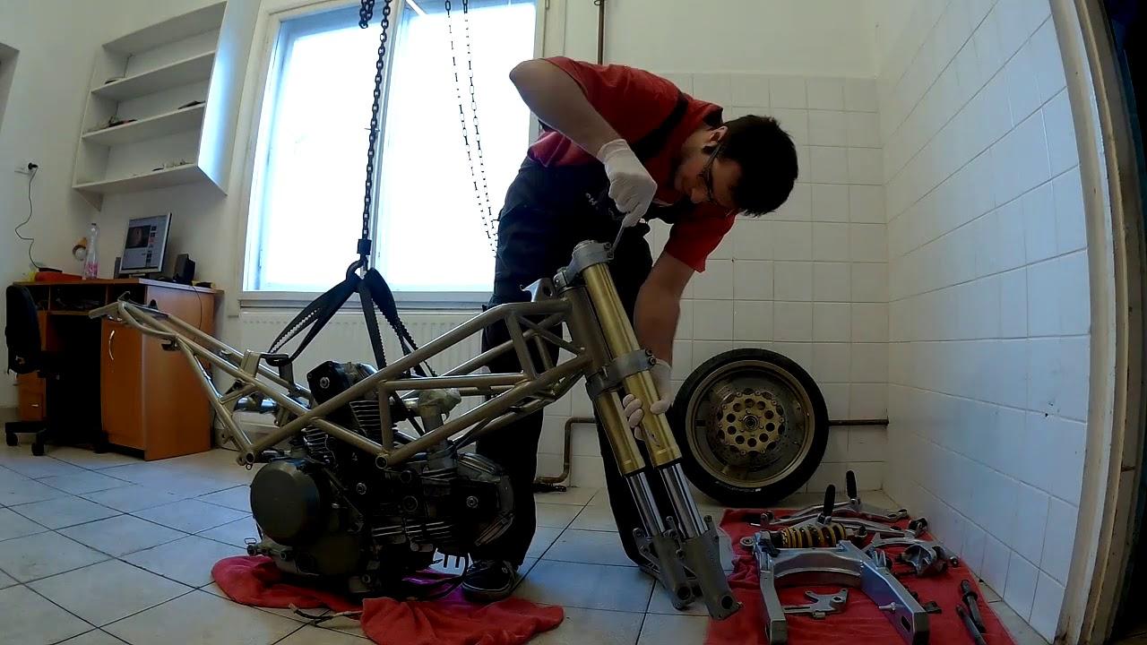 Ducati Monster 600 Repair Timelapse