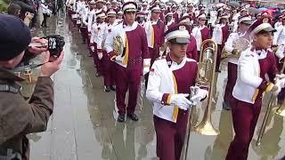 Banda - Colegio Moisés Castillo Ocaña - Trafalgar Square - LNYDP 2014