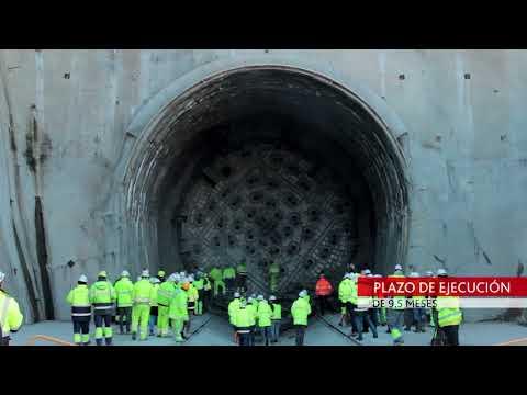 ACCIONA Construcción finaliza la excavación de los túneles de Bolaños, en España