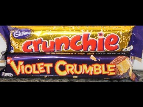 Cadbury Crunchie vs Nestle Violet Crumble Blind Taste Test