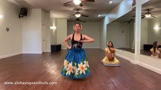 HULA PRACTICE | Basic Hula steps for beginners