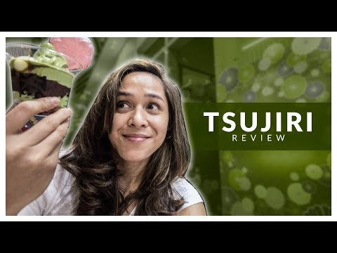 Christia reviews TSUJIRI in SM AURA!
