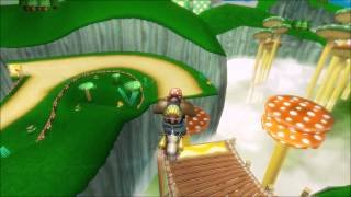 [MKWii TAF] Mushroom Gorge Freerun (Infinite Shrooms)