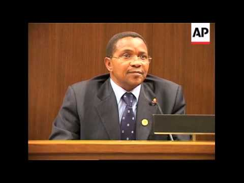 Chairman of AU comment on situation in Chad