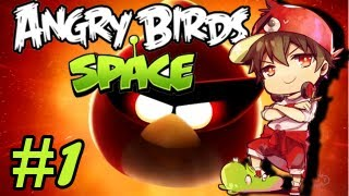 [Angry Birds Space] Attack on Piggie #1