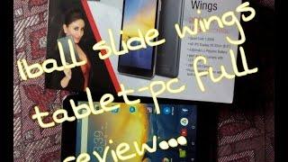 iBall Slide Wings full detailed review