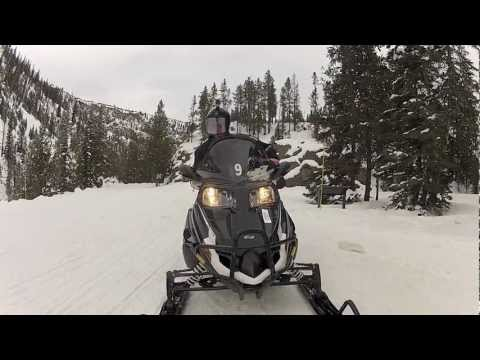 Yellowstone By Snowmobile (National Geographic Traveler)