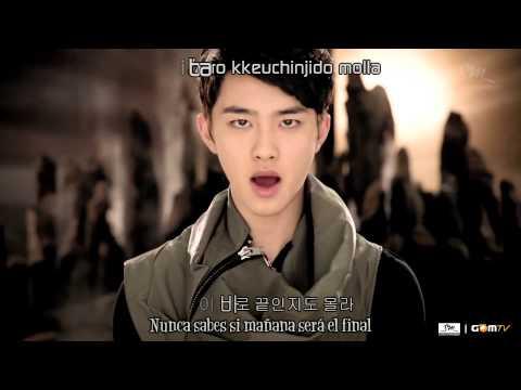 EXO K-History MV [Sub Español+Hangul+Romanización+KARAOKE]