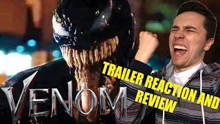 VENOM Trailer #2 Reaction and Review