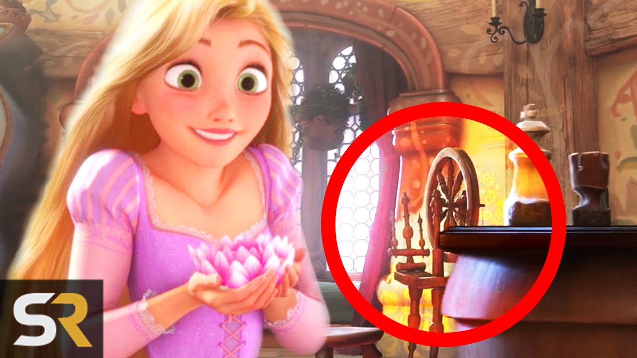 10 amazing hidden details in disney films youtube