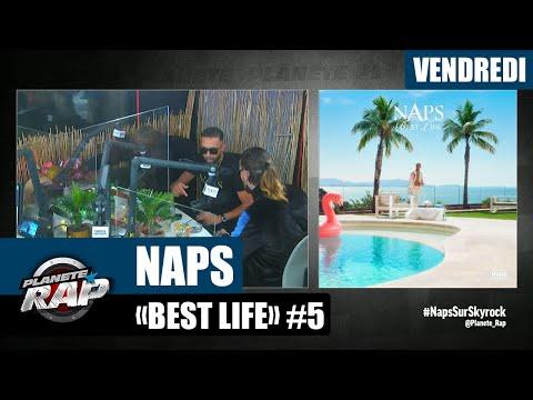 Youtube: Planète Rap – Naps«Best Life» avec Wejdene, SCH, Ivory et Fred Musa! #Vendredi