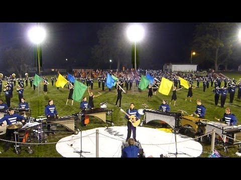 Truman High School Marching Band ~ Shadows Darkness In The Light - Carrollton Missouri 9 28 2013